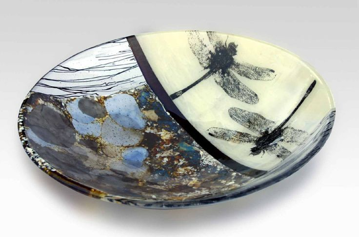 R.A. Morey Kiln Formed Glass Fused Glass - bowls - 3208 detail