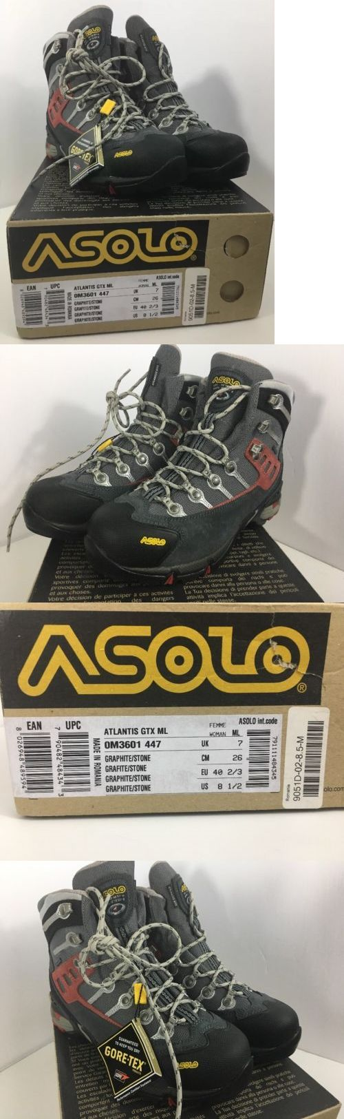 Womens 181393: Women S Asolo Atlantis Gtx Ml Gore-Tex® Hiking Boots Size 8.5 -> BUY IT NOW ONLY: $99.99 on eBay!