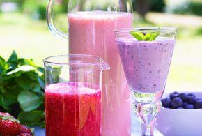 Smoothie med blandad frukt | Recept.nu