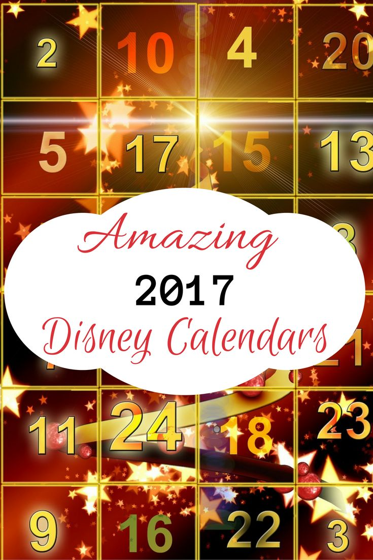It's time for you to get the best Disney Calendar 2017 For Your Kid To Enjoy All Through The New Year. Find fun Disney Calendars kids would enjoy that are filled with their favorite characters.