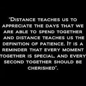 "I appreciate YOU & absolutely love our time together. Quality over Quantity!!! ""Distance teaches us the definition of patience..."" ♎️♍️ God Bless Us!!! ❤️"