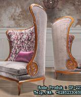 Kursi Sofa Model Sandaran Unik Lengkung