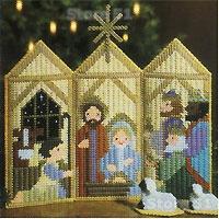 Dick Martin Christmas Plastic Canvas - Dick Martin - Craft Ideas Book