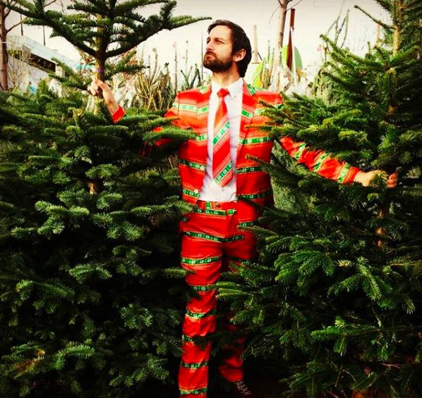 Christmas Jumper Suit by Fruitysuits.com