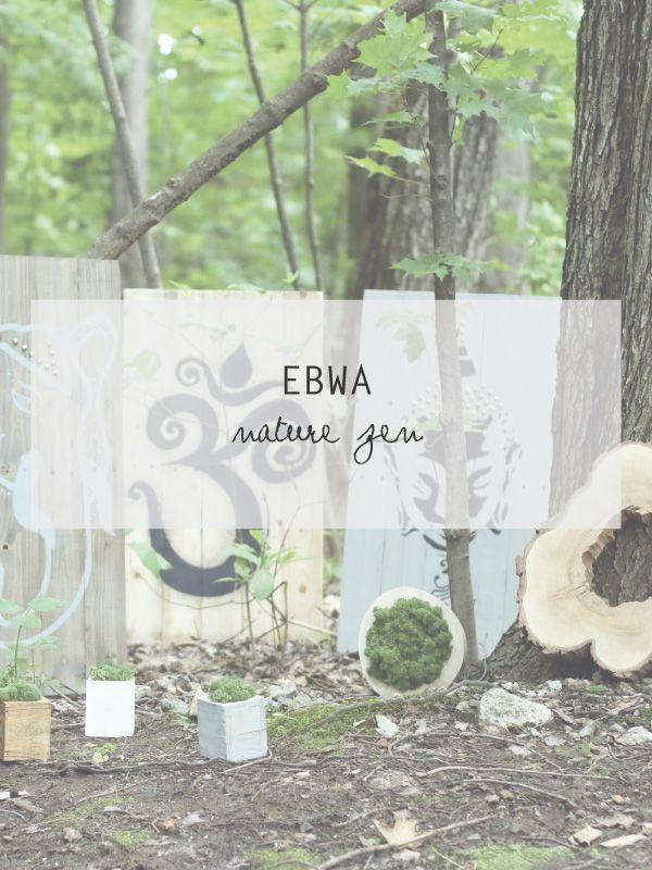 «En 2015, Marjorie Imbeault avait ce désir de décorer et de créer du beau. Elle avait aussi le désir de respecter ses valeurs environnementales, de réutiliser et recycler: «mon but est de diminuer mon empreinte écologique en réutilisant et en récupérant», explique-t-elle fièrement.» Ebwa, nature zen https://signelocal.com/articles/ebwa-nature-zen/