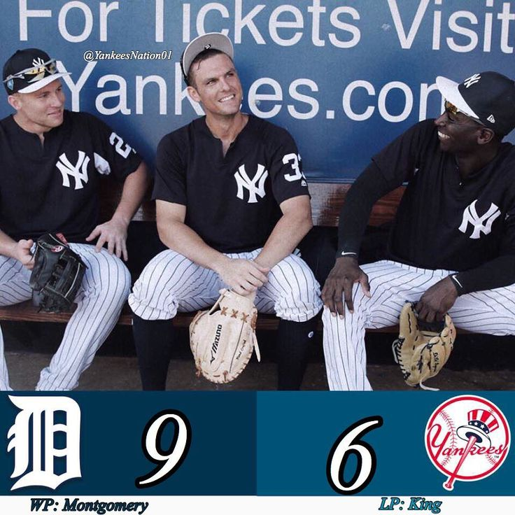 The #Yankees loss their 1st game of #springtraining 9-6 against the #tigers in an extraordinary game. Sanchez hit a monster HR over the scoreboard. Yankees on the Phillies today at 1:05! #mlb #baseball2018 #Baseball #Judge #Stanton #Sanchez
