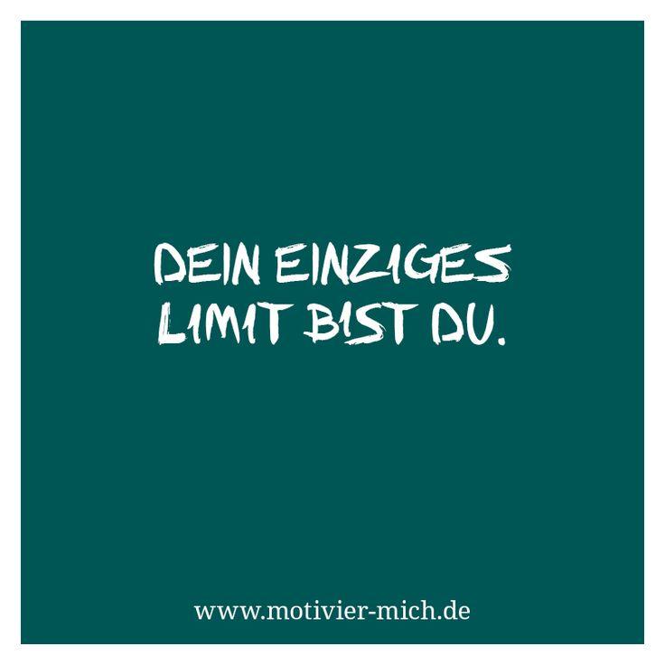 Dein einziges Limit bist du, motivation, words, spruch, crossfit, functional fitness, gym, cologne, sport