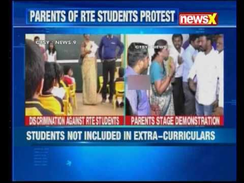 Bengaluru school: RTE kids parents allege discrimination https://t.co/CgT0u84MOm #NewInVids https://t.co/IwamdtZLaD #NewsInTweets
