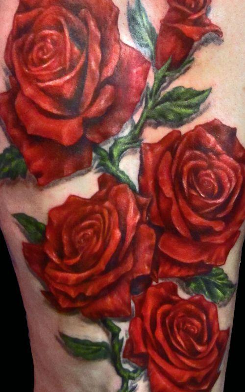 roses tattoos a26