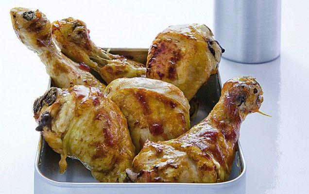 Μπουτάκια κοτόπουλου με μέλι και χυμό εσπεριδοειδών - iCookGreek