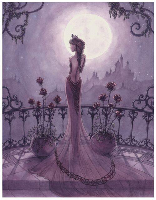 romantic princess image... so girly and SO me :)