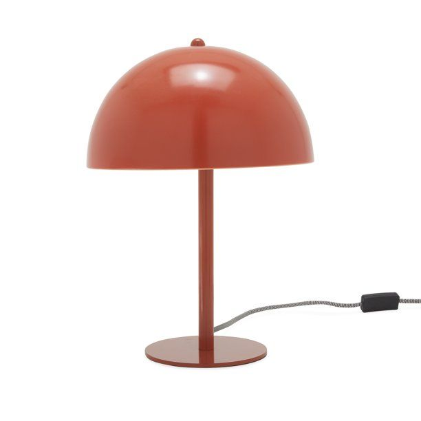 Grecian Blue Retro Table Light By Drew Barrymore Flower Home Walmart Com Retro Table Light Table Orange Lamps