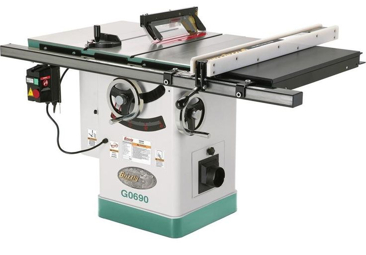25 best ideas about grizzly table saw on pinterest for 10 cast iron table saw r4512