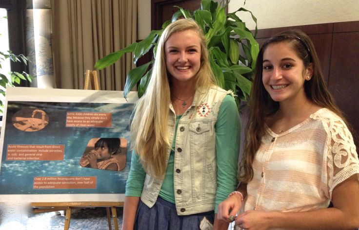 Student Poster Presentation on issues in Nicaragua