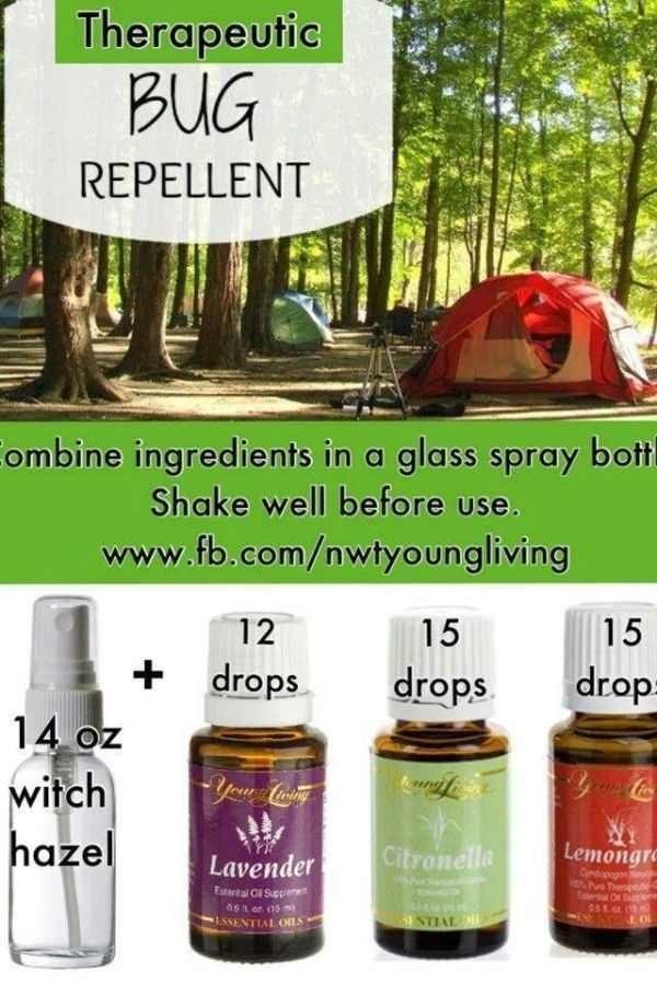 Love this!  Younger Dwelling important oils & bug repellent