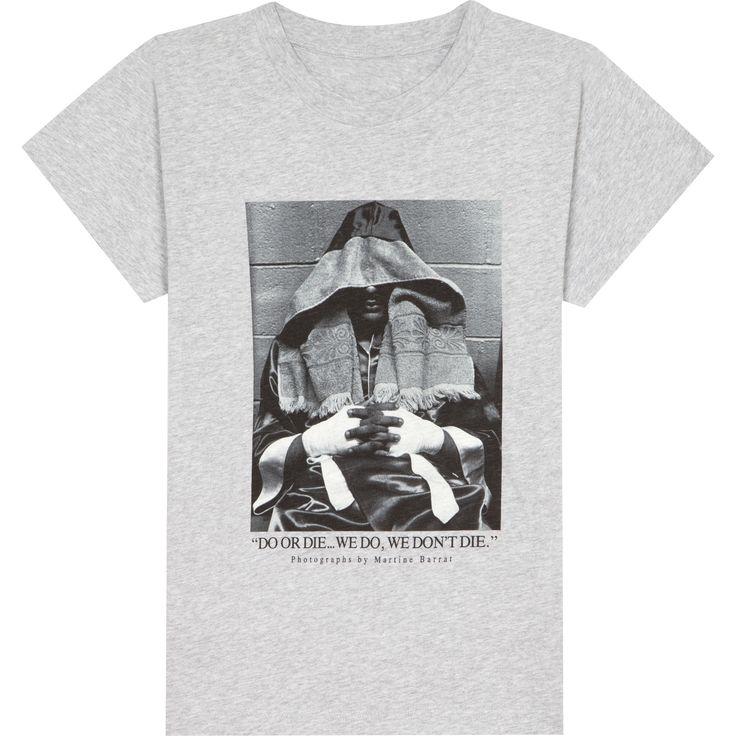 T-shirt Martine Barrat chine blanc