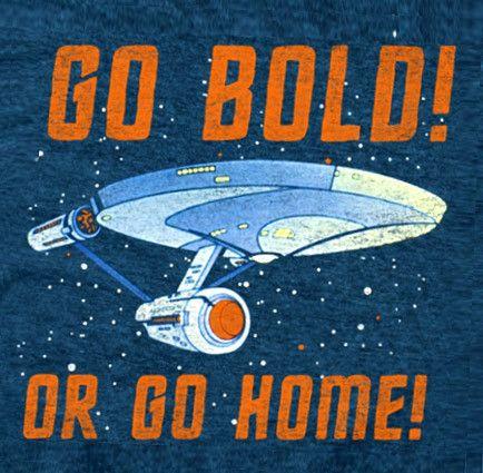 Star Trek Go Bold Indigo Premium T-Shirt – overjupiter.com