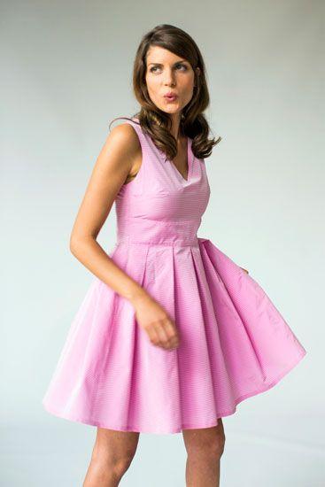 Collection Maria Westerlind spring summer 2014. Dress Stina.