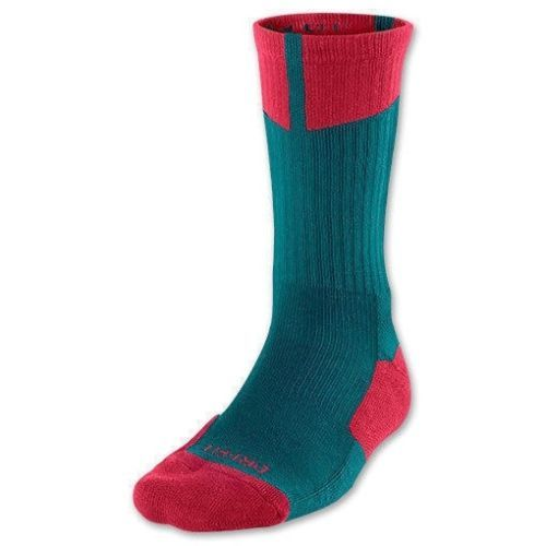 NWT NIKE AIR JORDAN Mens Dark Sea Gym Red Crew Socks 530977 387 SZ 8-12 #Sporting Goods:Team Sports:Basketball:Clothing, Shoes & Accessories:Other Basketball Clothing # $8.00