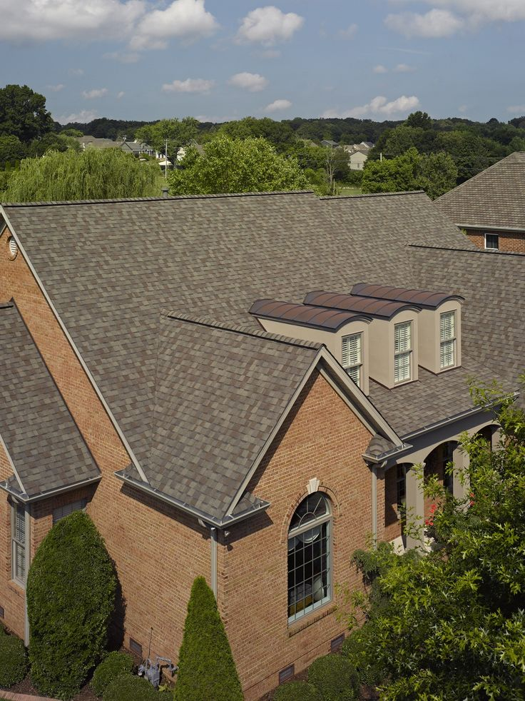 Landmark In Weathered Wood #CertainTeed #roofing