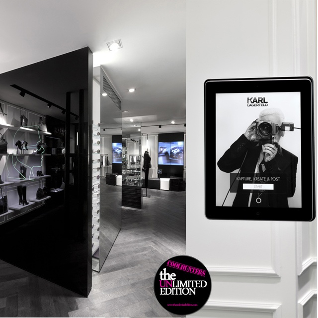 La Concept Store de Karl Lagerfeld  #guide #guia #shopping #moda #fashion #paris #france #mode #tendaces #store #boutique #lagerfeld #ipad #karl   http://www.theunlimitededition.com/shopping/rutas-shopping/la-concept-store-de-karl-lagerfeld