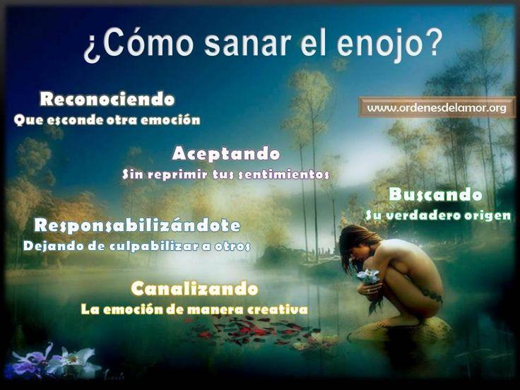 Sanar el enojo (Fuente: Ordenes del Amor, Facebook))