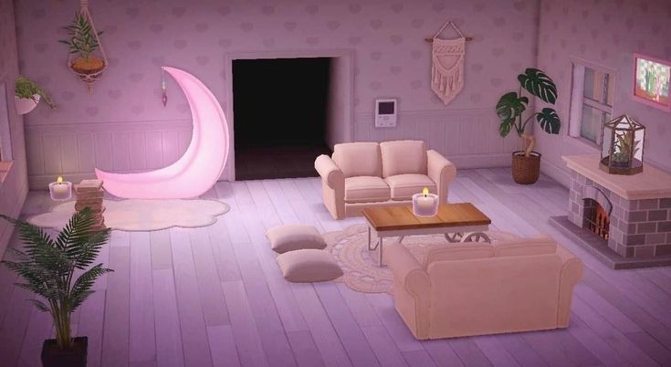 Pin on animal crossing on Animal Crossing New Horizons Living Room  id=22127