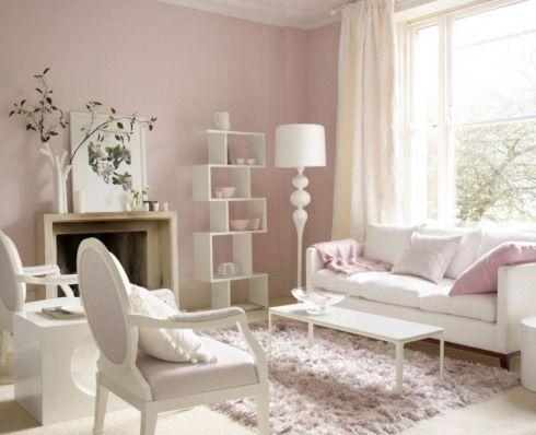 Wandfarbe Schlafzimmer Rosa Moebel In Weiss Und Zartrosa