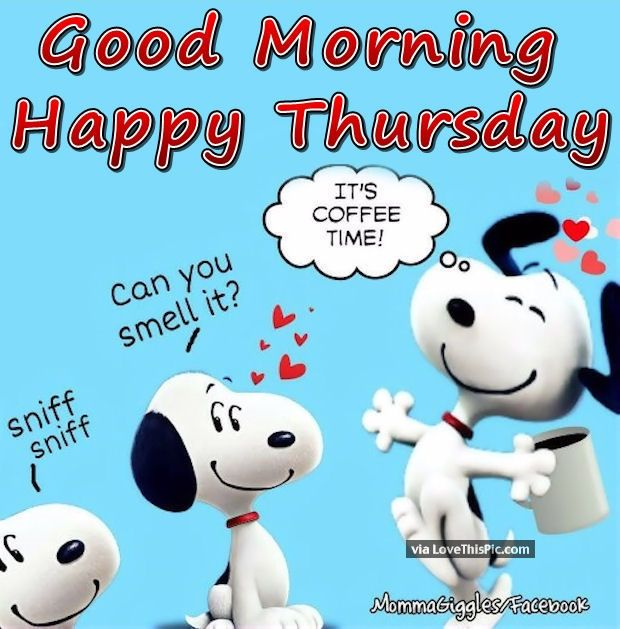 Coffee's On so Happy Thursday!