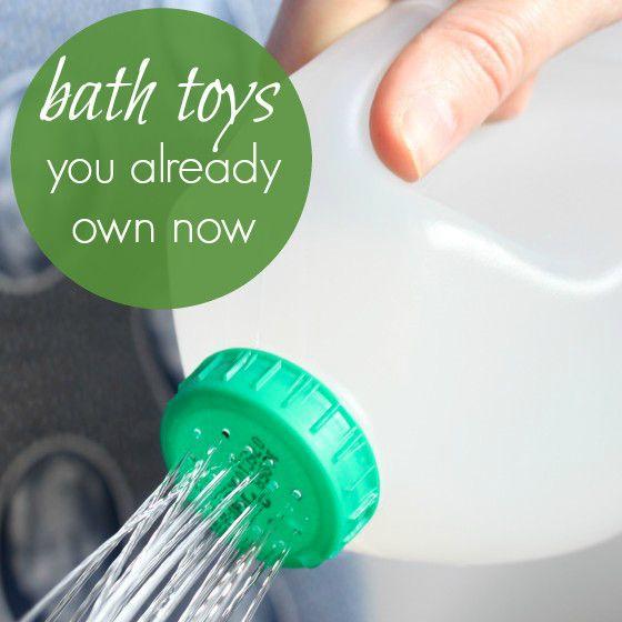 8 Repurposed Bath Toys You Already Own