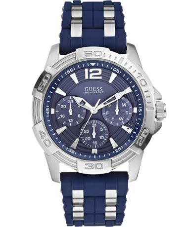 GUESS Multifunction Blue Rubber Strap Μοντέλο: W0366G2 Η τιμή μας: 169€ http://www.oroloi.gr/product_info.php?products_id=39887