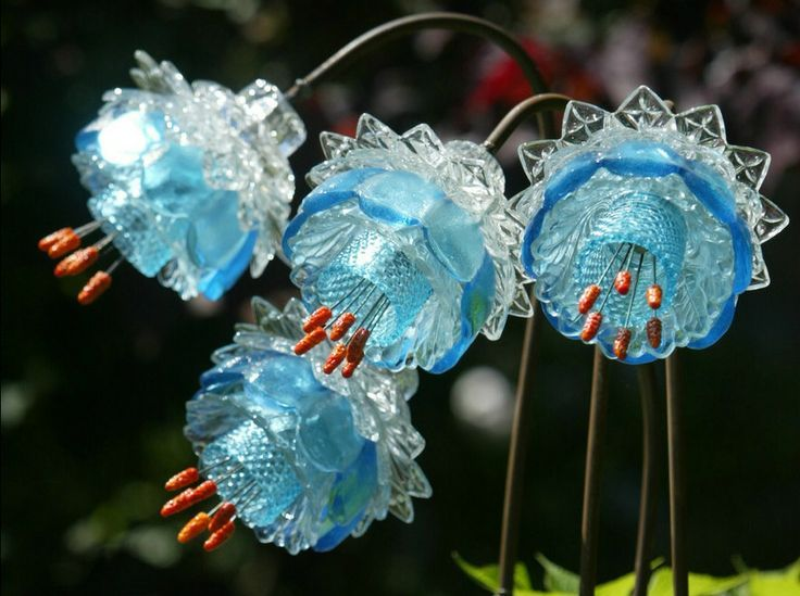 mike urban glass flowers - Google Search