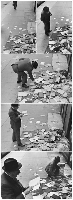 André Kertesz, Pleasure Reading.