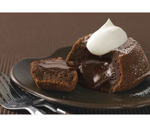 Molten Chocolate Lava Cakes. So easy and sooo good!