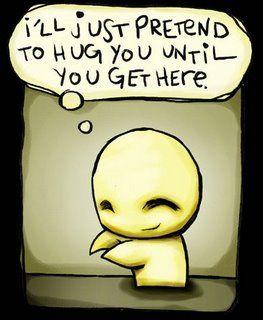 Hug on hold.   #Impatience : 