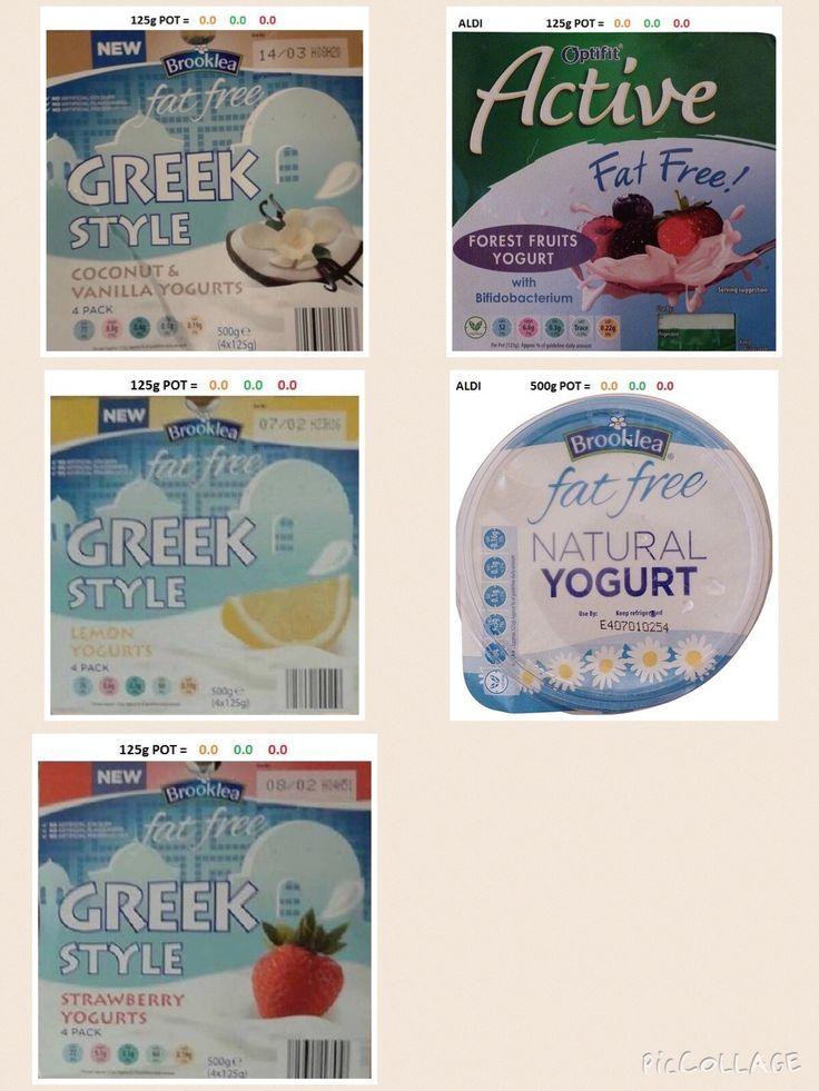 Aldi  Yogurts