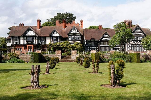 wightwick manor, wolverhampton, england.