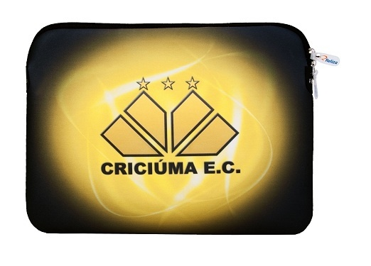 Case para notebook do Criciúma, por @relizabr.