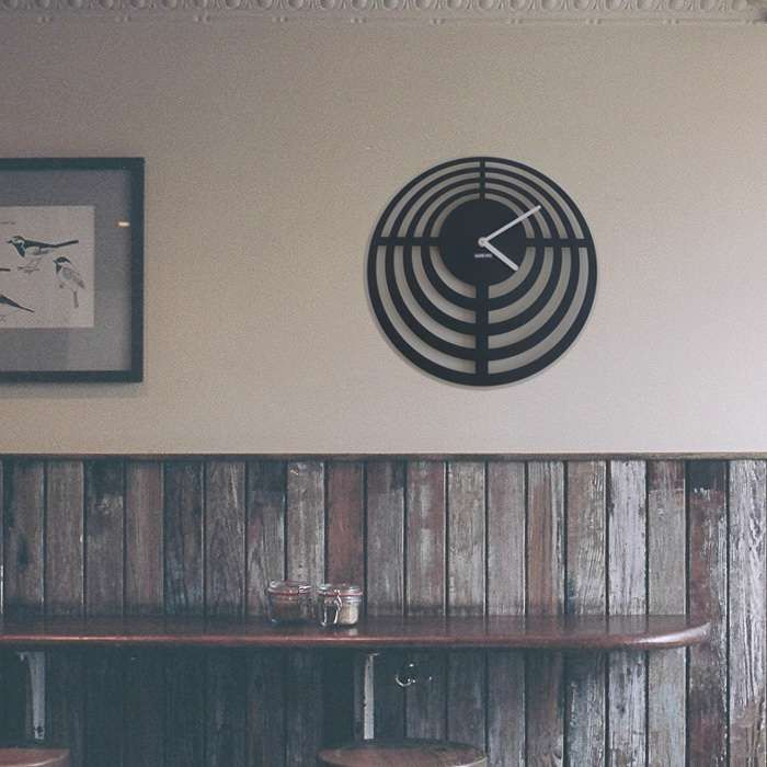 Zegar ścienny urlik design Tarcza