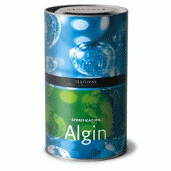 Algin  A natural product extracted from brown algae (of Laminaria, Fucus, and Macrocystis genera, among others) that grow in cold water regions of Ireland, Scotland, North and South America, Australia, New Zealand, South Africa, etc. Depending on the part of the algae that has been refined, the texture and Calcic reactivity of each alginate varies. For this reason, we have selected Algin as the ideal product for achieving spherification with guaranteed results.  Price per 500g Can - $64.99…