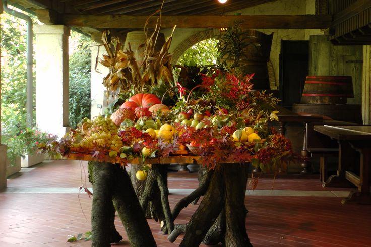 Magie d'autunno sotto il Portico