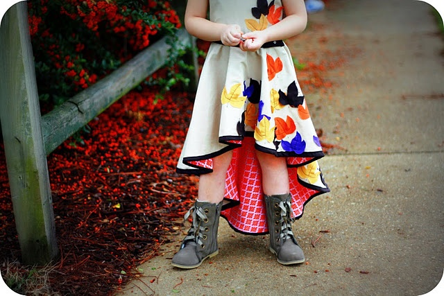 Fall Skirt from Me Sew Crazy!
