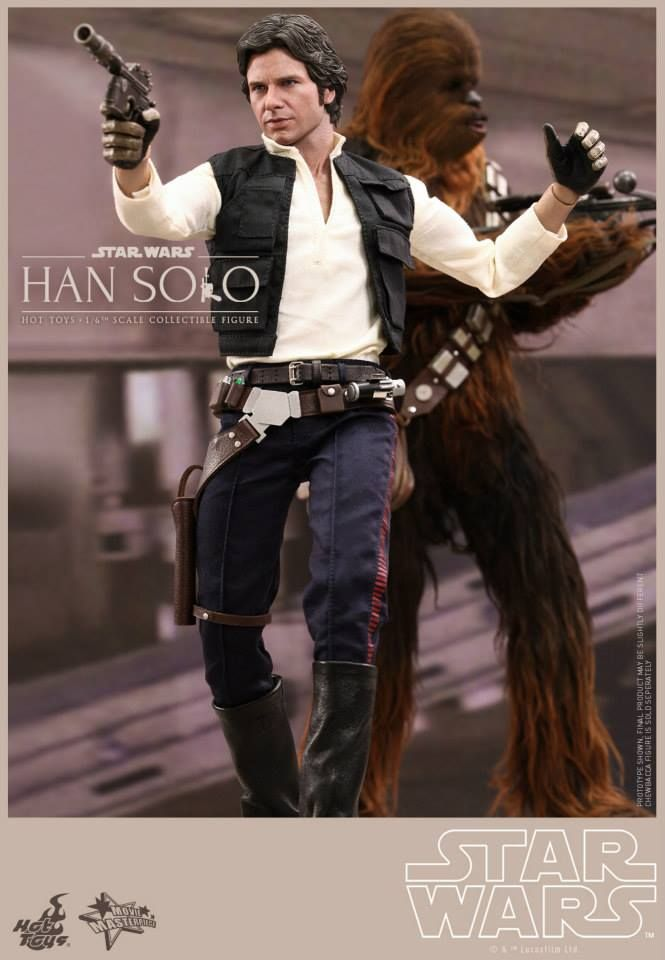 Hot Toys has revealed a couple of incredibly awesome 1/6th scale collectible figures for the famous Star Wars characters Han Solo and Chewbacca.