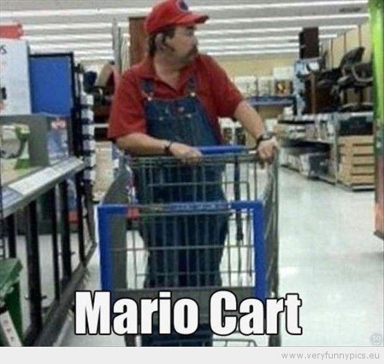 Pictures of Idiots at Walmart | Mario Cart at Walmart | Funny Pics