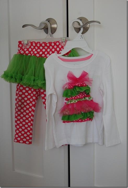 Adorable girls Christmas shirt