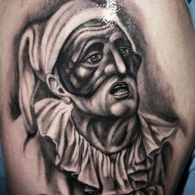 Pulcinella Naples tattoo