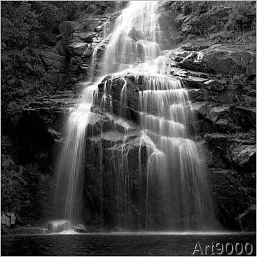 Cédric Porchez - Cascade de Runes, Lozère | Topseller | Pinterest | Runes, Art prints and Waterfall