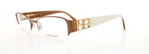 White Bebe Eyeglass Frames : Bebe Eyeglasses Bb 5015 White Smoked Topaz Amorous ...