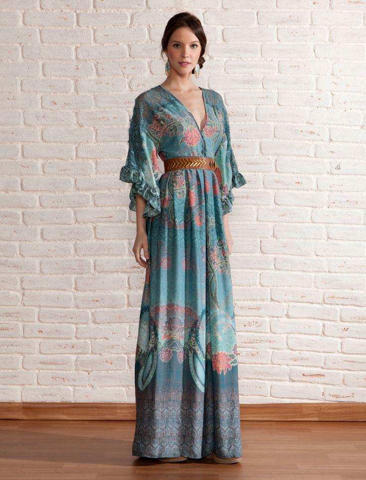 Vestido Longo Oriente