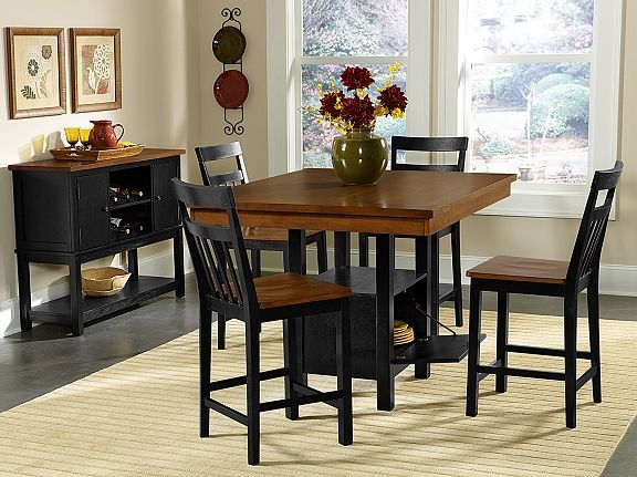 memphis dining room collection value city table